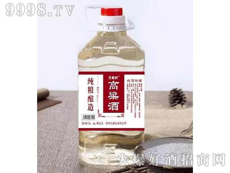 北粮村高粱酒60°5L 浓香型白酒
