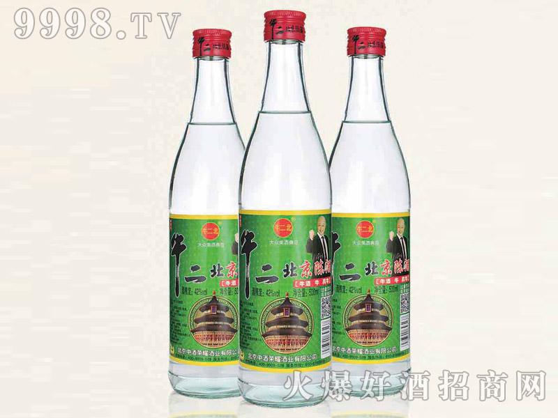牛二北京陈酿酒42°500ml浓香型白酒