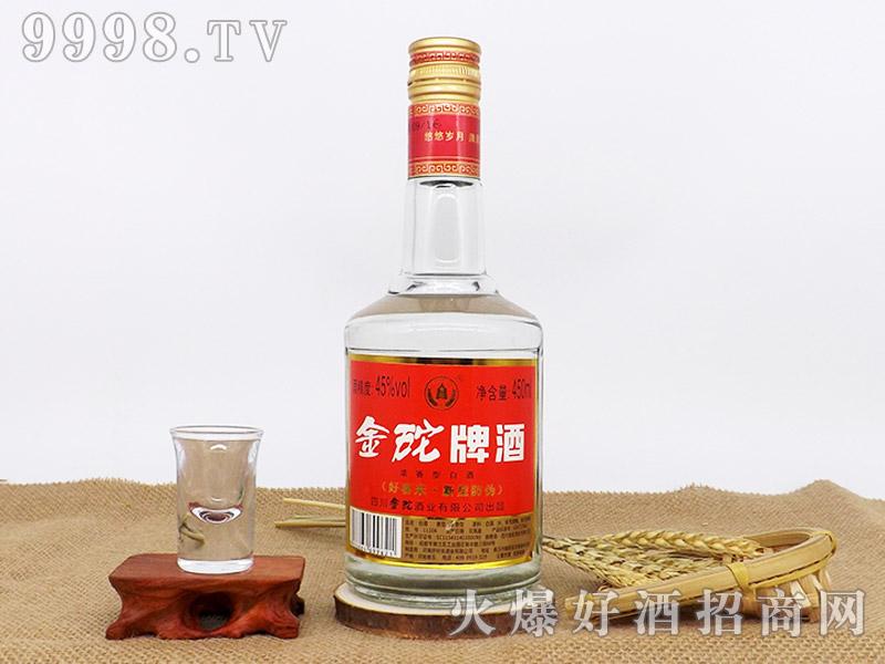 金砣牌曲酒45°450ml浓香型白酒