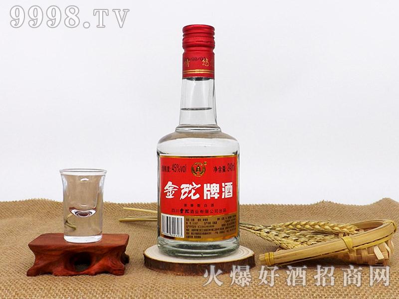 金砣牌酒45°240ml浓香型白酒