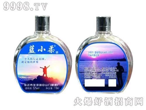 蓝小柔潮流小酒42°118ml浓香型白酒
