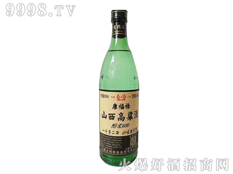 京宏福康福禄山西高粱酒42°500ml清香型白酒