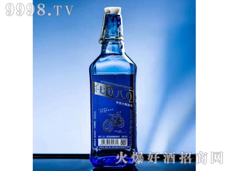 回味7080庆安大高粱酒41.2度500ml浓香型白酒