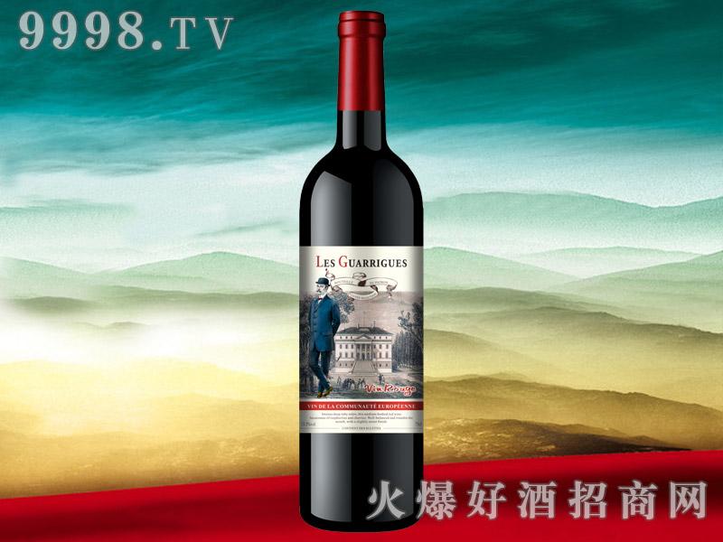 法国格兰戈绅士干红葡萄酒
