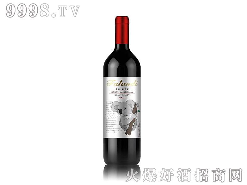 富朗迪酒庄考拉山谷西拉干红葡萄酒--14度