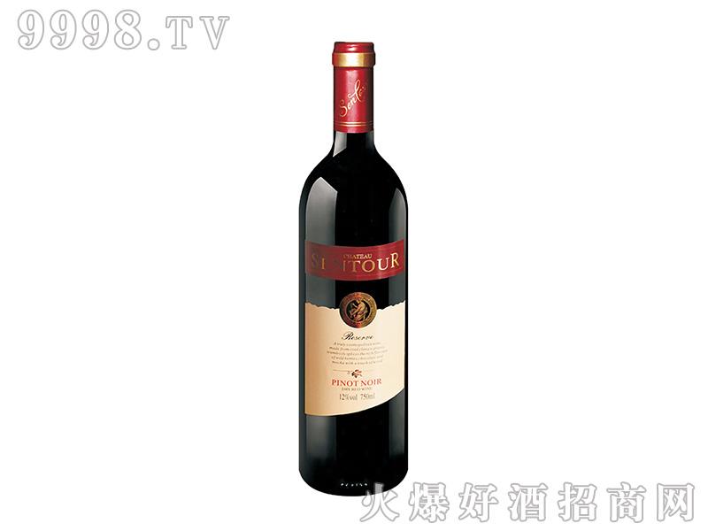 圣图酒堡・黑比诺干红葡萄酒 老人头