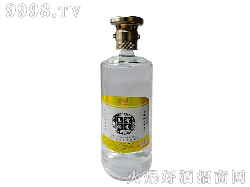 清香玉液52°500ml浓香型白酒