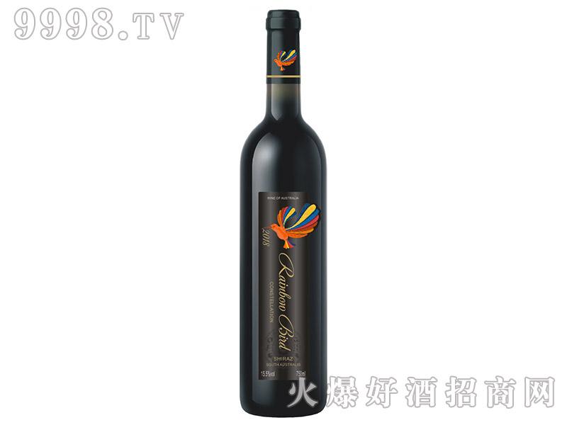 澳大利亚彩虹鸟・星座西拉干红葡萄酒