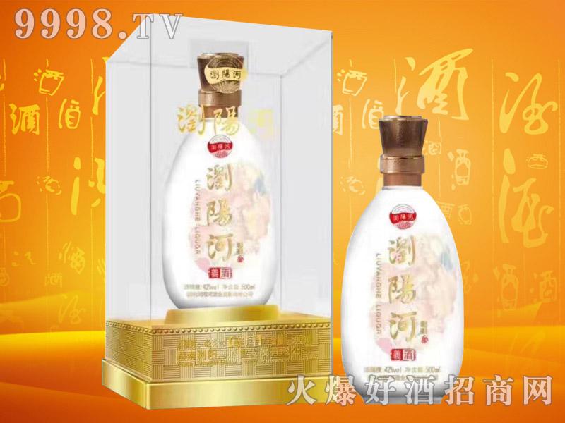 浏阳河酒义酒42°500ml浓香型白酒