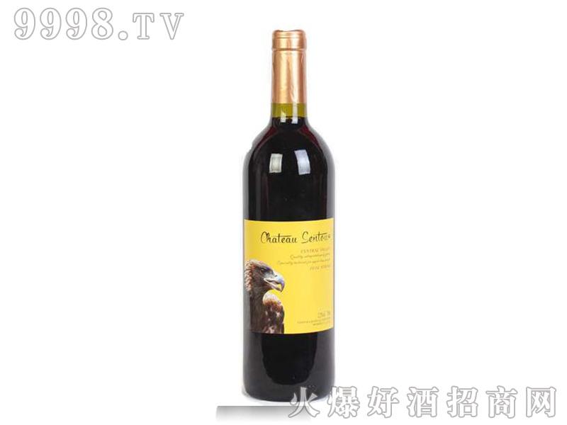 圣图酒堡西拉干红葡萄酒鹰头