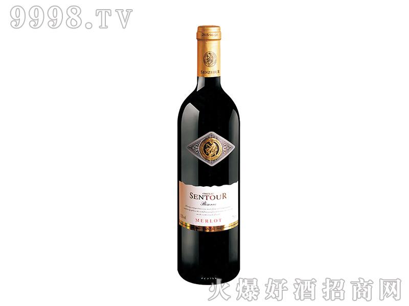 圣图酒堡・美乐干红葡萄酒老人头