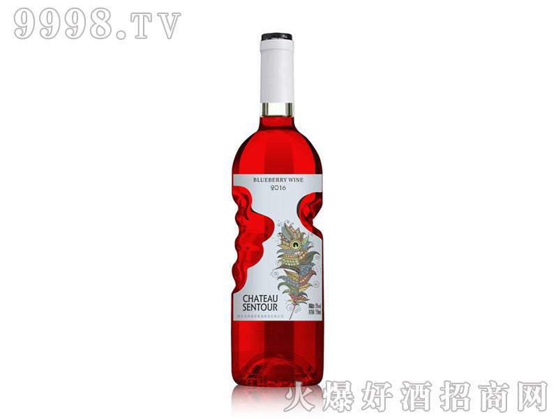 圣图卡瑟蓝莓酒8度