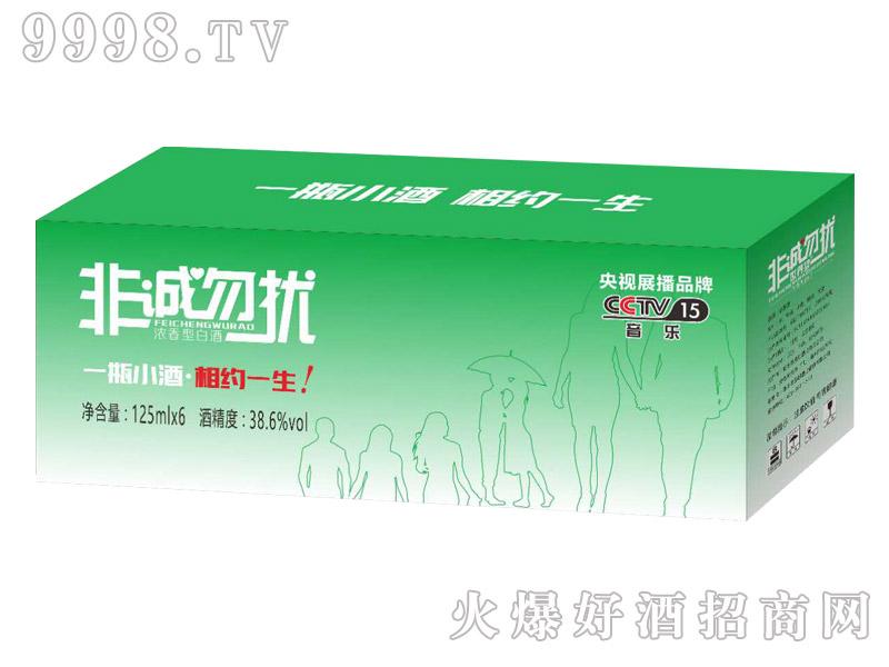 非诚勿扰小酒38.6°125ml×6瓶(绿色箱装)