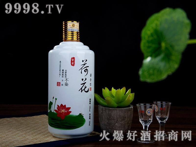 金酱荷花酒(带杯)500ml