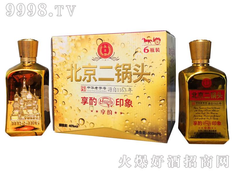 北京二锅头享酌品鉴酒 46°