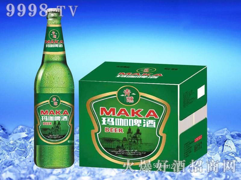 青醺玛咖啤酒