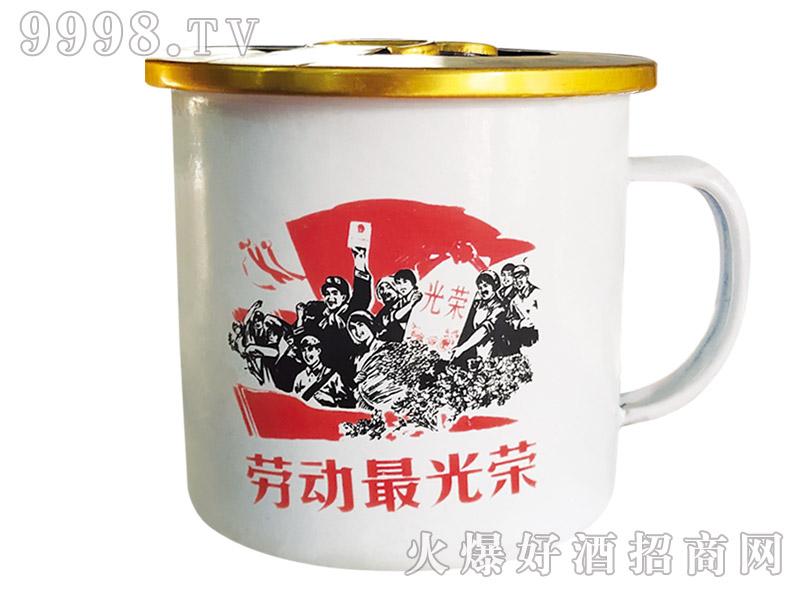 东北大茶缸酒 42°300ml×18(白瓷)