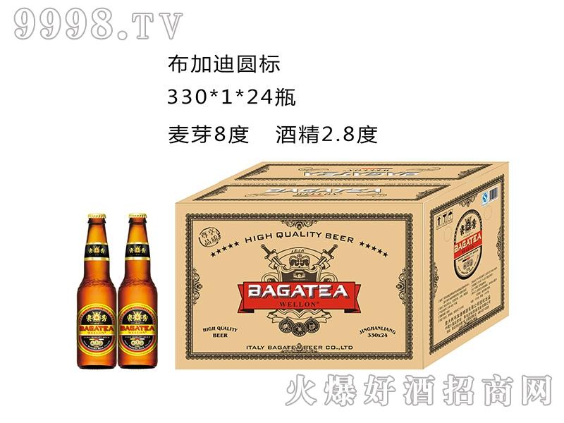 布加迪圆标330MLx1x24瓶