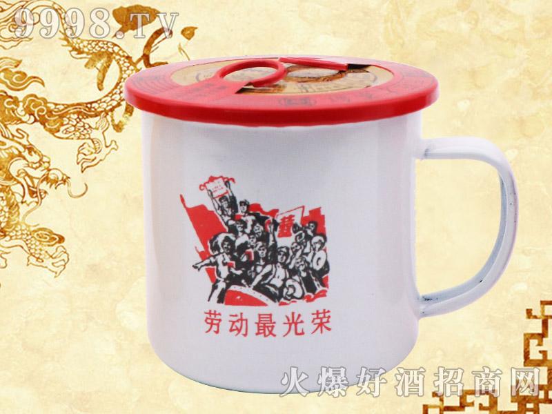 东旺大茶缸人参酒(劳动光荣)
