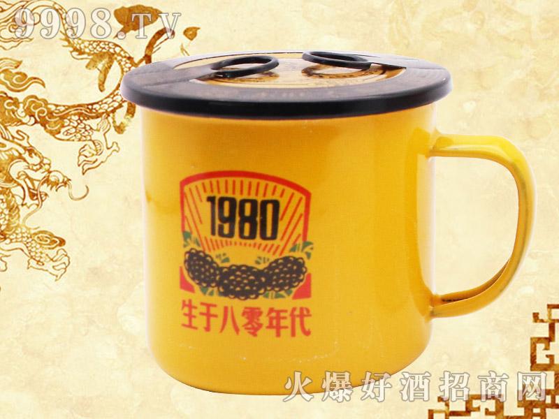 东旺大茶缸人参酒(八零年代)