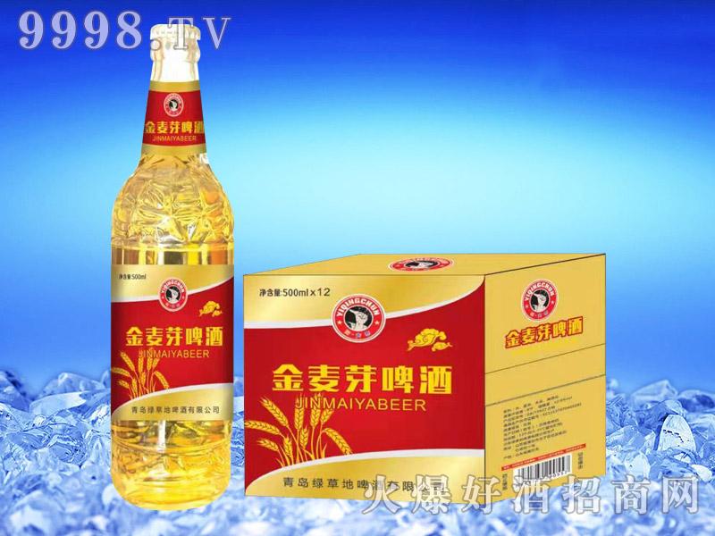 金麦芽啤酒500ml×12瓶