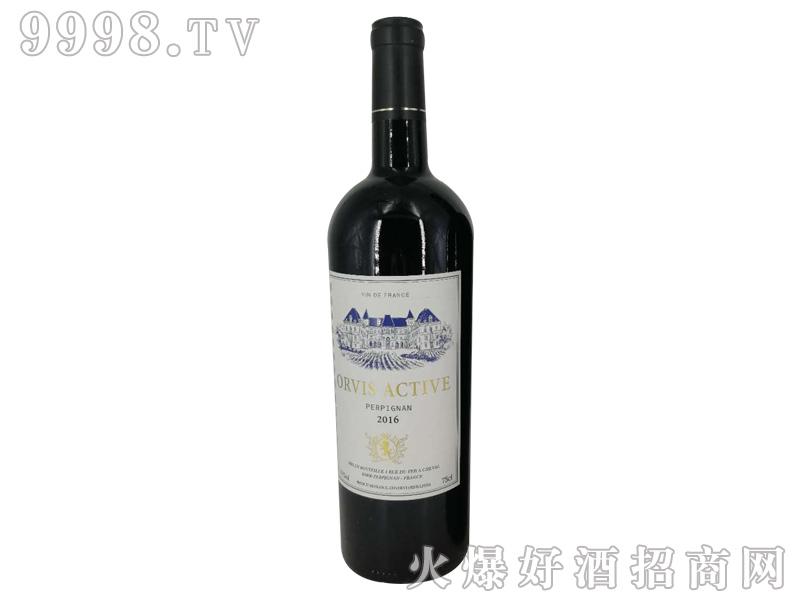 奥维斯动派伯爵干红葡萄酒
