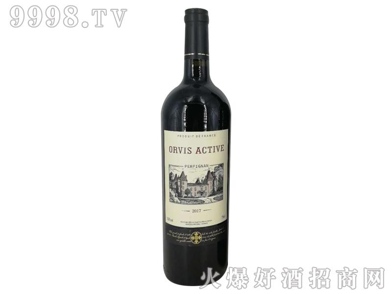 奥维斯动派城堡干红葡萄酒