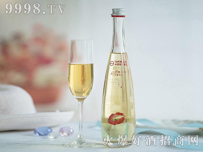 扬子撸点酒尊享水蜜桃味酒500ml