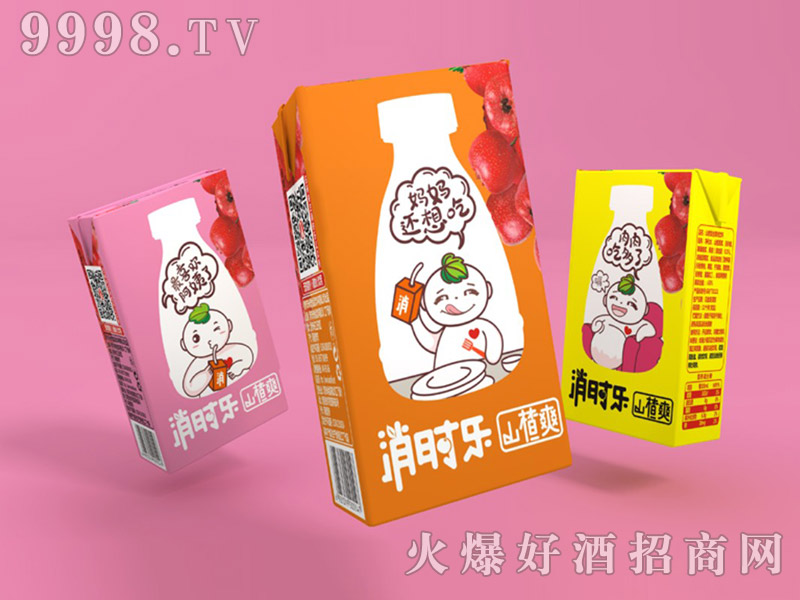 消时乐山楂爽-儿童版125ml