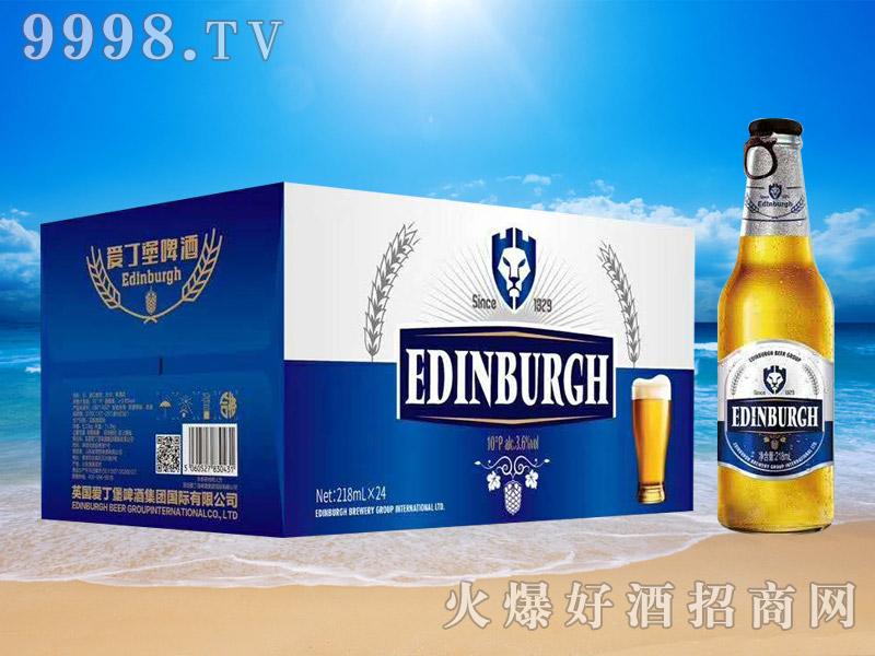爱丁堡拉盖白瓶10度218mL×24瓶
