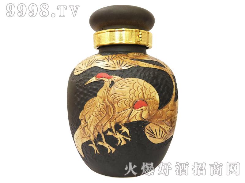 景德镇手工陶瓷仙鹤