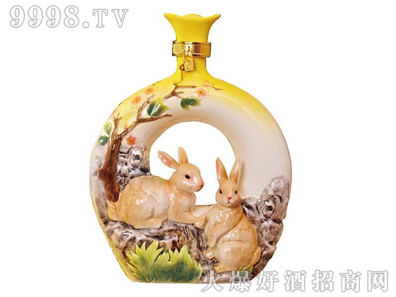 冠群芳十二生肖酒(兔)1500ml