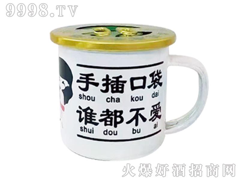 鑫德惠茶缸酒(白小缸)