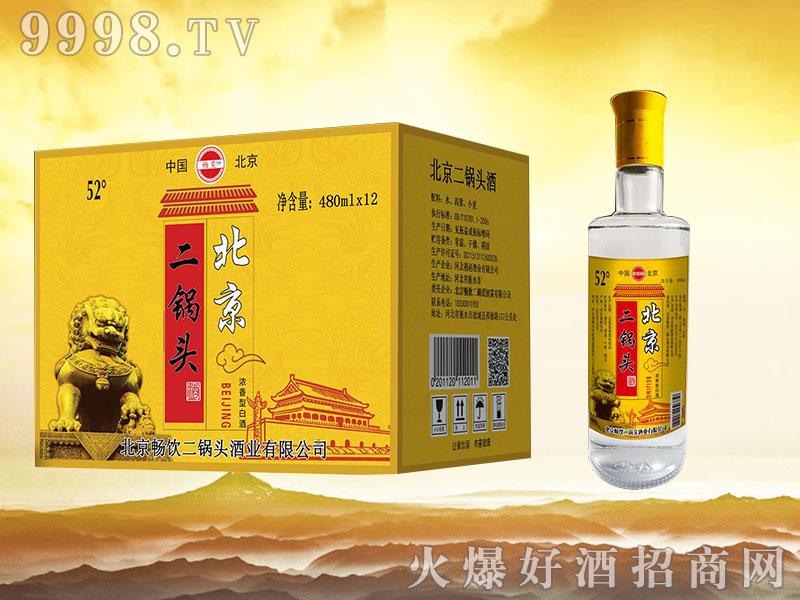 畅饮北京二锅头 480mlx12