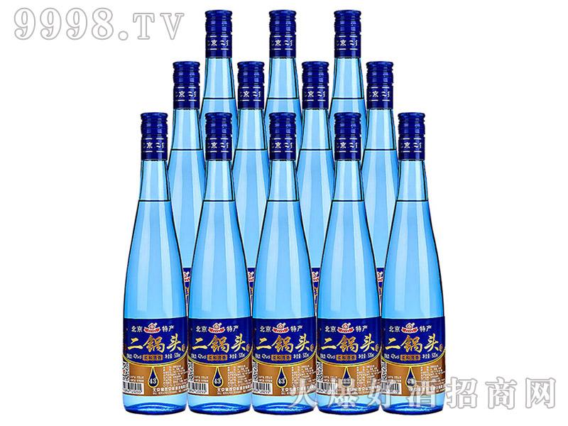 京都二锅头酒43°500ml×12瓶