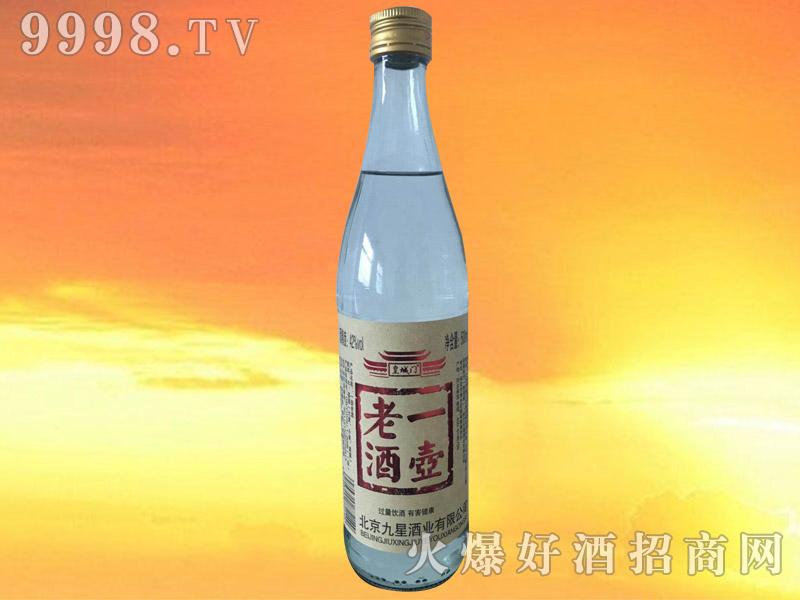 皇城门一壶老酒42°500ml