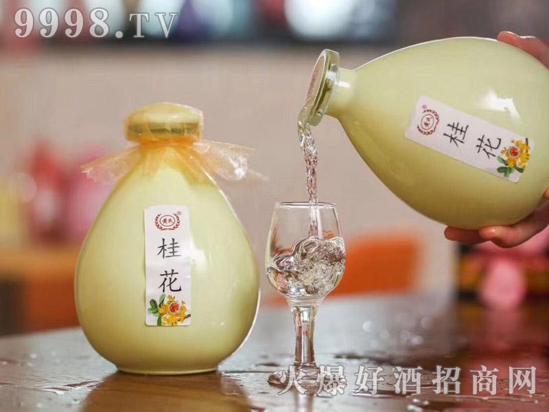 明月山桂花酒的制作方法