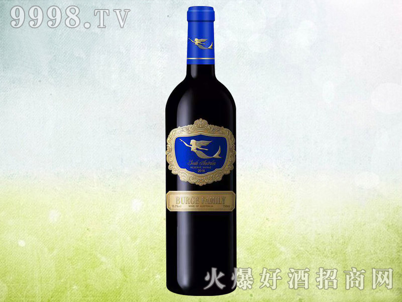 伯格家族美人鱼干红葡萄酒750ml