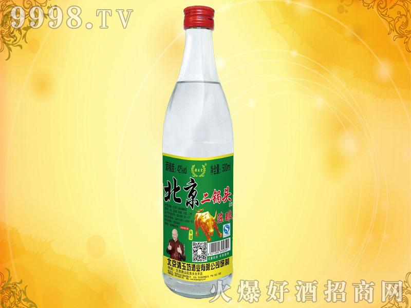 北京二锅头陈酿酒500mlX12瓶