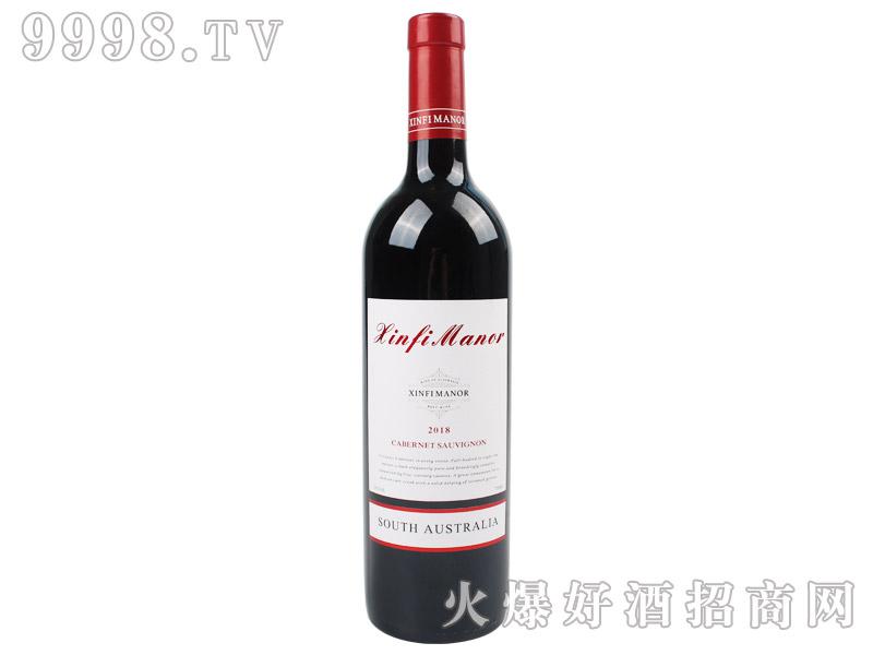 心菲庄园赤霞珠干红葡萄酒2018