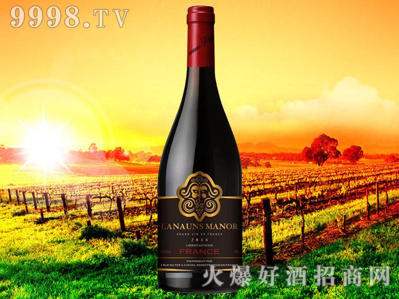 拉贡酒庄品丽珠干红葡萄酒2016
