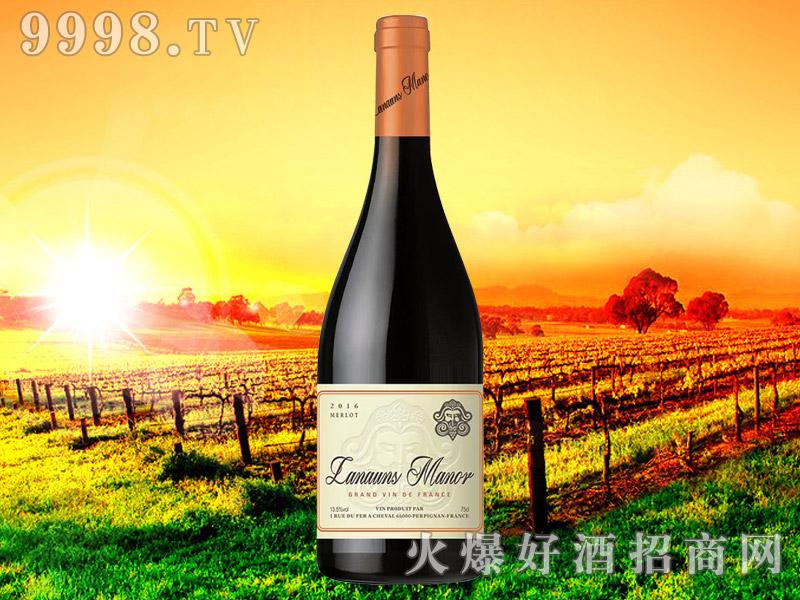 拉贡酒庄美乐干红葡萄酒2018