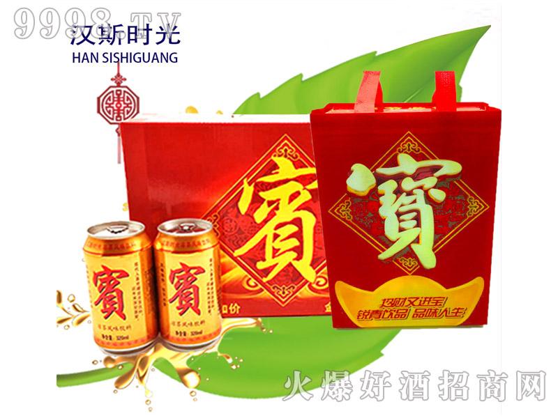 宝凉茶风味饮料(双罐手提袋)