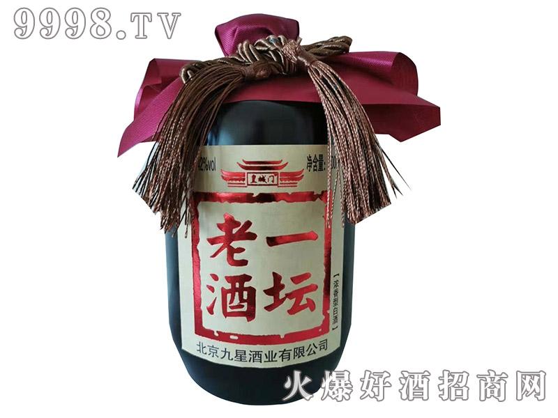 皇城门一坛老酒42°500ml-