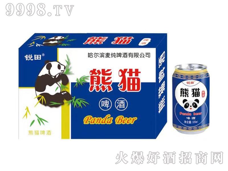 锐田熊猫啤酒320ml蓝箱