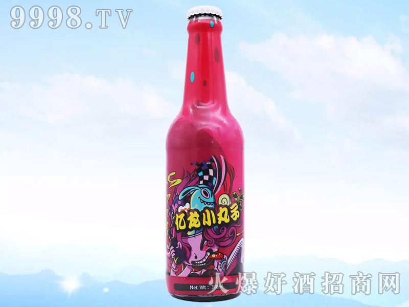 亿龙小丸子318ml菠萝味啤酒(低醇)