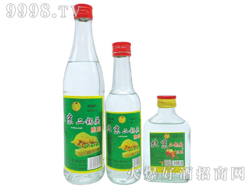 北京二锅头酒陈酿浓香型白酒【42°500ml、250ml、100ml】
