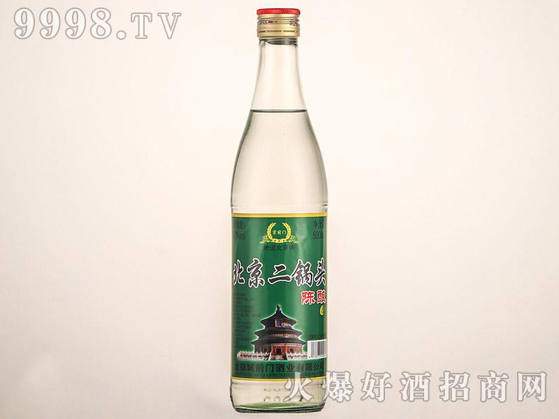 京阳门北京二锅头酒陈酿浓香型白酒【42°500ml】
