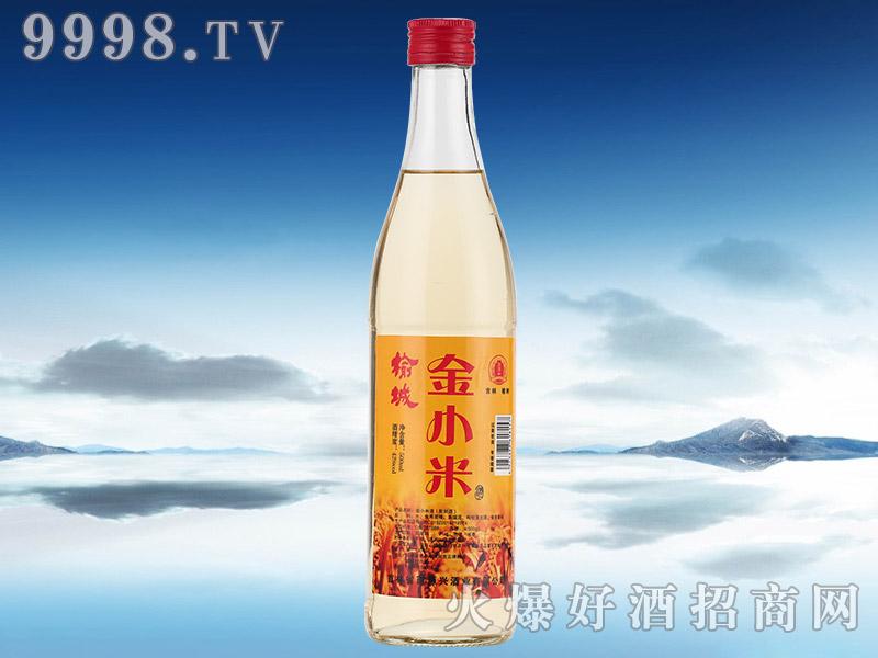 榆树金小米酒【42°500ml】