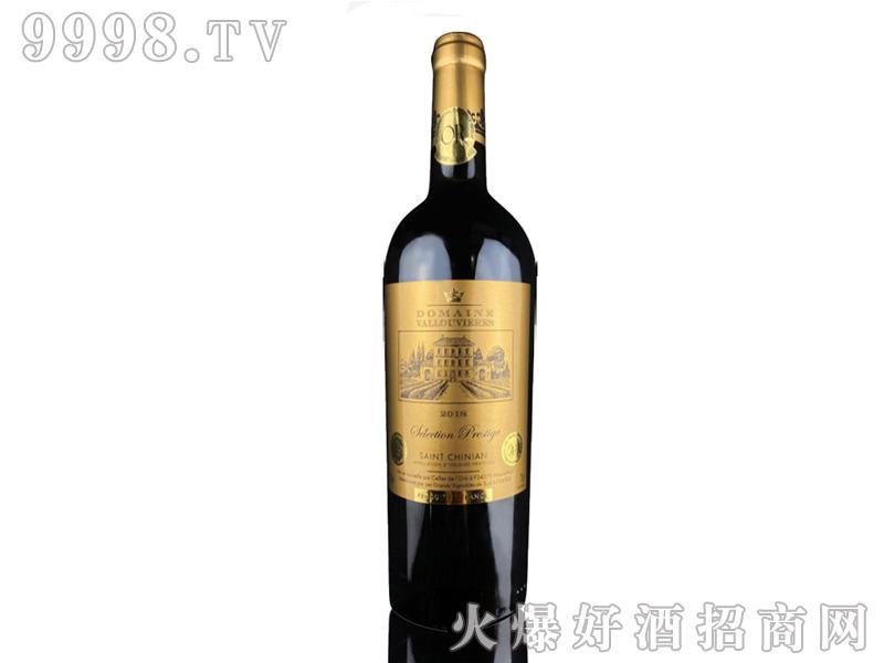 黛金庄园干红葡萄酒【13度750ml】